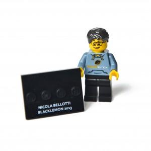 Lego minifigures custom by Blacklemon