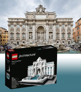 Lego Trevi Fountain