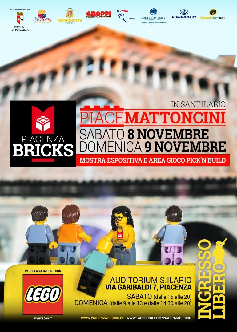 2014-09 Piacenza Bricks - locandina 8-9 novembre