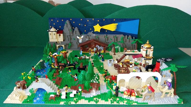 Presepe in LEGO! | Piacenza Bricks - LEGO® Users Group di