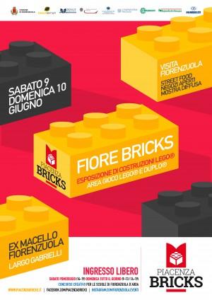 2018-05 Piacenza Bricks - Locandina Fiore Bricks 2018